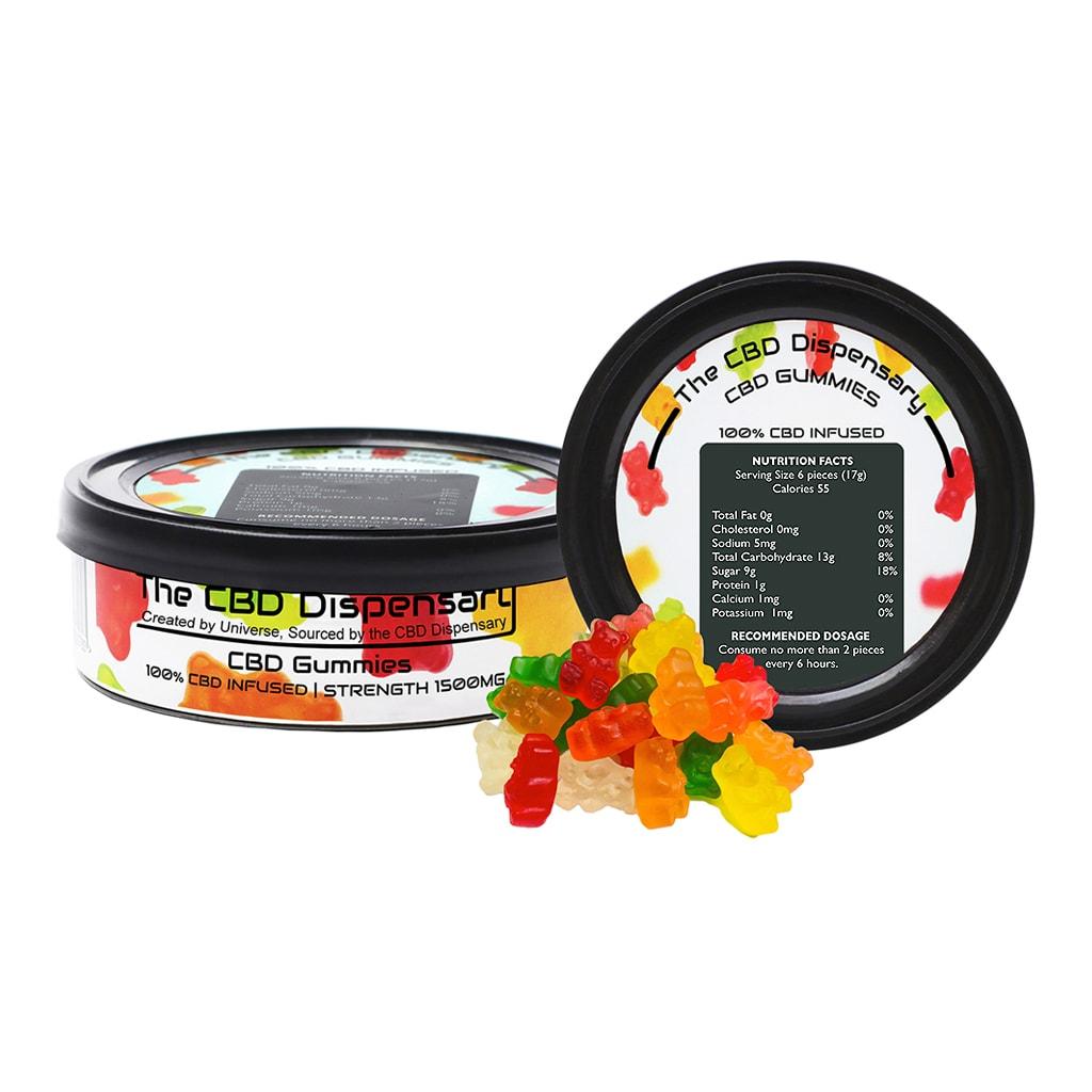 CBD Fruity Gummy Bears